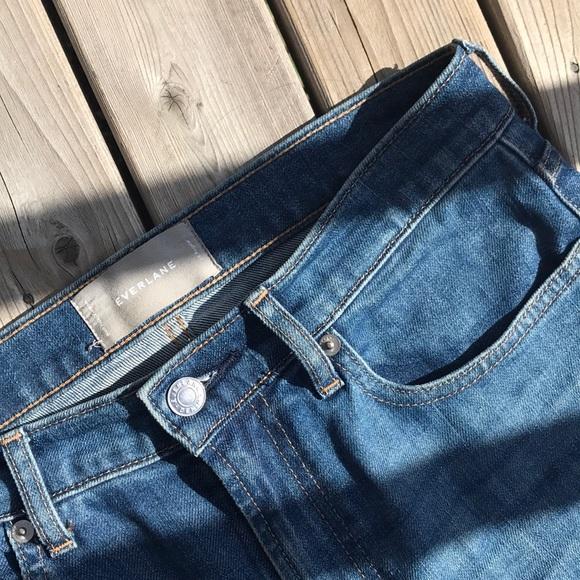 eb6d7ebb7701 Everlane Jeans | High Rise Skinny Jean Mid Blue Denim | Poshmark